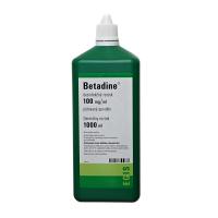 BETADINE dezinfekčný roztok 100 mg 1000 ml