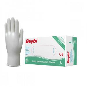 BEYBI Latexové rukavice veľkosť L 100 kusov