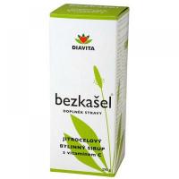 BEZKAŠEL skorocelový bylinný sirup 250 g