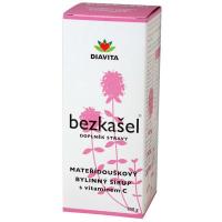 BEZKAŠEL materinodúškový bylinný sirup 250 g
