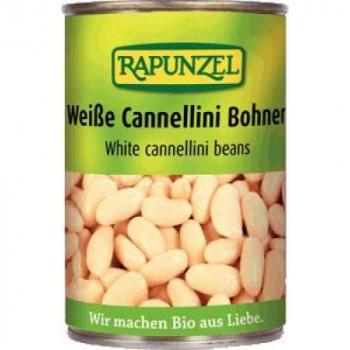 Bio biela fazuľa sterilizovaná 400g Rapunzel