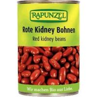 Bio fazuľa červené oblička sterilizovanej 400g Rapunzel