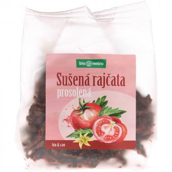BIO NEBIO Sušené paradajky sekané BIO 100 g