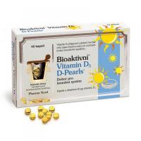 PHARMA NORD Bioaktívny vitamín D3 D-Pearls 40 kapsúl