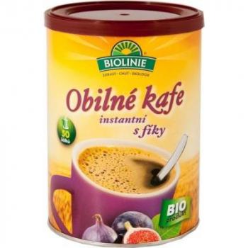 BIOLINIE Instantné obilné kafe s figami 100 g