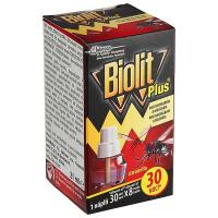 BIOLIT Plus Tekutá náplň citrón na komáre a muchy 30 nocí 27 ml