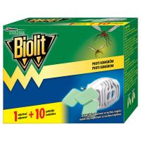BIOLIT Elektrický odparovač so suchou náplňou 1 + 10 ks