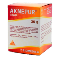 BIOMEDICA Aknepur zásyp 20 g