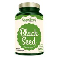 GREENFOOD NUTRITION Black seed čierna rasca 90 kapsúl