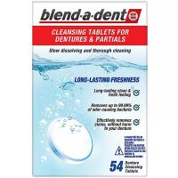 BLEND-A-DENT Čistiace tablety Freshness 54 ks