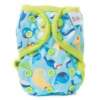 BOBÁNEK Novorodenecké vrchné nohavičky s patentkami Chameleóni
