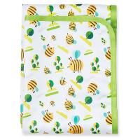 BOBÁNEK Prebaľovacia podložka Včielky