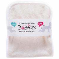 BOBÁNEK Vkladacia plienka Novorodenecká bambus-fleece