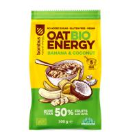 BOMBUS Oat energy banana & coconut ovsená kaša 300 g BIO