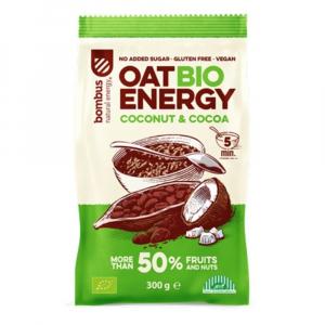 BOMBUS Oat energy coconut & cocoa ovsená kaša 65 g BIO