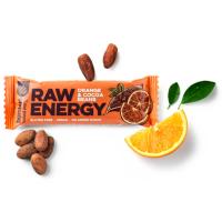 BOMBUS Raw energetická tyčinka pomaranč a kakaové bôby 50 g