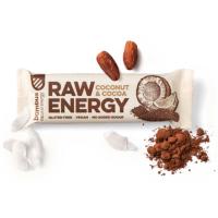BOMBUS Raw energetická tyčinka kakao a kokos 50 g