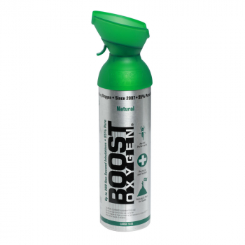 BOOST OXYGEN Natural inhalačný kyslík v plechovke 9 l