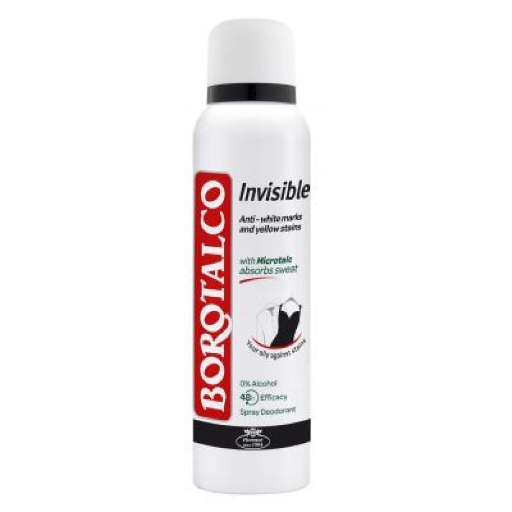 BOROTALCO Deodorant v spreji Invisible 150 ml