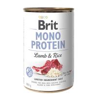 Brit MONO PROTEIN Lamb & Rice konzerva pre psov 400 g