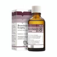 BROMHEXIN 8-Kvapky KM 8 mg/ml 50 ml