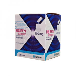 BRUFEN INSTANT 400 mg šumivý granulát 20 vreciek
