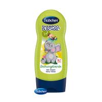 BÜBCHEN Kids šampón a sprchovací gél 2v1 Partička z džungle 230 ml