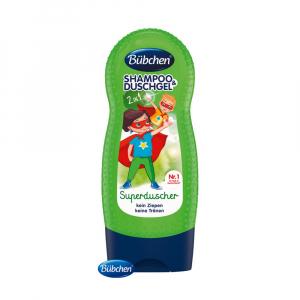 BÜBCHEN Kids šampón a sprchovací gél 2v1 Supehrdina 230 ml