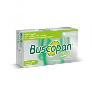BUSCOPAN 10 mg tablety 10 ks