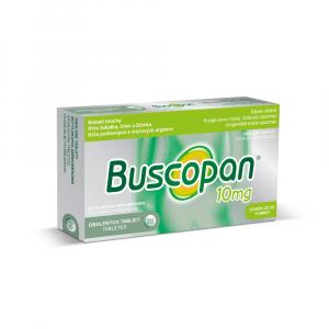 BUSCOPAN 10 mg tablety 20 ks