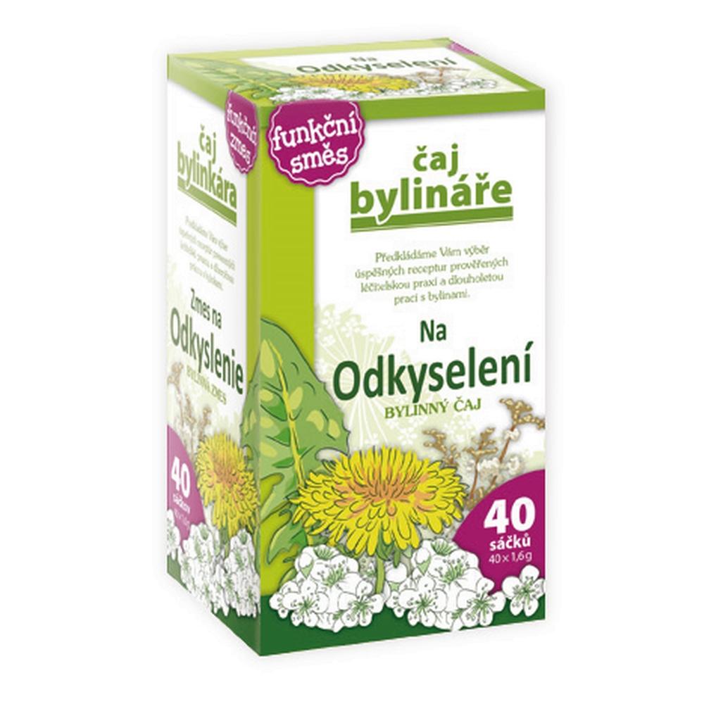 BYLINAROV Bylinný čaj na odkyslenie organizmu 40 vrecúšok