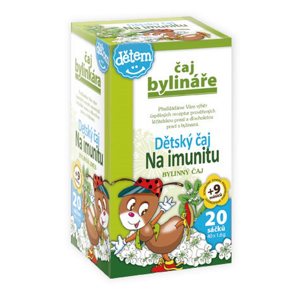 Bylinář Detský čaj na imunitu 20x1.5 g