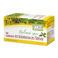 FYTOPHARMA Bylinná zmes pre diabetikov so sladidlom stévia 20x 1.5 g