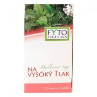 FYTOPHARMA Bylinný čaj na vysoký tlak 20x 1,25 g