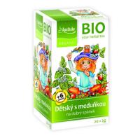 APOTHEKE Detský ovocný čaj s medovkou BIO 20x2 g