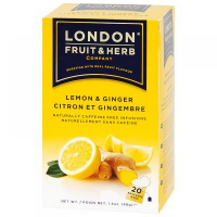 LONDON FRUIT & HERB Čaj Zázvor s citrónom 20x2 g