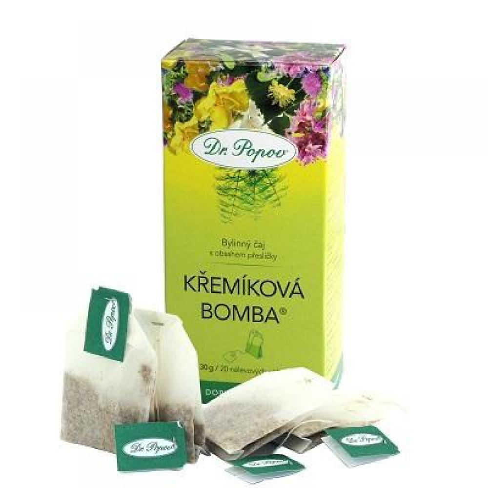 DR. POPOV Kremíková bomba čaj 30 g