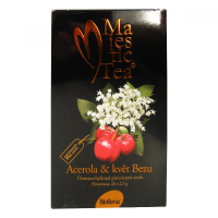 BIOGENA čaj Majestic tea Acerola + kvet Bazy 20x 2,5 g