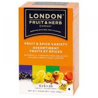 LONDON FRUIT & HERB Ovocie a korenie variácie 20x2 g