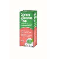 CALCIUM CHLORATUM - TEVA perorálny roztok 100 ml