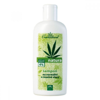 Cannaderm Natura Šampón mastné a Normálne vlasy 200ml
