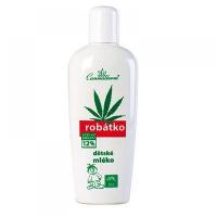 Cannaderm Robátko ošetřující mléko 150ml (Vhodné i pro citlivou pleť)