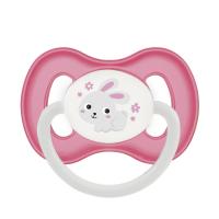 CANPOL BABIES Cumlík kaučukový čerešnička BUNNY&COMPANY 6-18m ružový