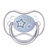 CANPOL BABIES Cumlík silikónový symetrický NEWBORN BABY 18+m modrý