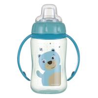 CANPOL BABIES Tréningový hrnček s úchytkami CUTE ANIMALS medvedík 320 ml