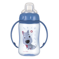 CANPOL BABIES Tréningový hrnček s úchytkami CUTE ANIMALS psík 320 ml