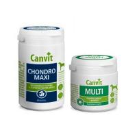 CANVIT Chondro Maxi 230 g + CANVIT Multi pre psov 100 g