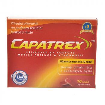 CAPATREX 10 kapsúl