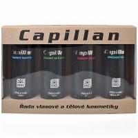 Capillan S darčeková sada 4x200 ml aktivátor + šampón + balzam + sprchový gél
