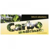 CARBO MEDICINALIS tablety 20 ks